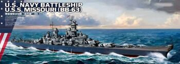 PS-004 1/700 U.S.NAVY Battleship U.S.S. Missouri (BB-63)