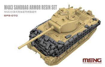 SPS-070 1/35 M4A3 Sandbag Armor (Resin)