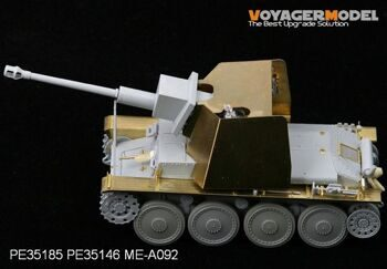 PE35185 1/35 WWII 75mm Stu.Kan.Auf  Pz.Kpfw.38?t?(For DRAGON 6396)