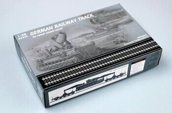 00213 German Railway Track (900 mm)/набор рельс 1/35