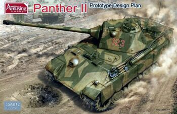35A012 1/35 Panther II Prototype Design Plan
