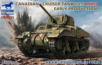 CB35215 1/35 Canadian Cruiser Tank RAM MK.II Early Production