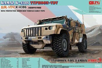 35021 1/35 Typhoon VDV K-4386 Mine-Protected Armoured Vehicle Early Type