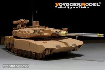 PE35891 Modern German Leopard2 Revolution 2 MBT Basic(TIGER 4628)