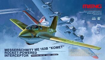 QS-001 Messerschmitt Me163B Komet Rocket-Powered Interceptor
