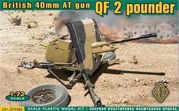 72504 Ordnance QF 2-pounder (British 40mm AT gun)