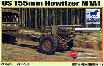 CB35073 US M1A1 155mm Howitzer (WWII)