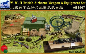 AB3567 1/35 W.W.II British Airborne Weapon & Equipment Set