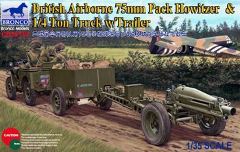 CB35163 1/35  75mm Howitzer M1A1 (British Version)