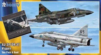 SH72411 SAAB 37 Viggen Duo Pack & Book