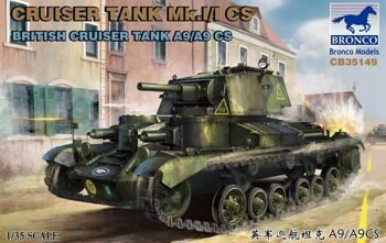 CB35149 Cruiser Tank Mark I/I CS British Cruiser Tank A9/A9