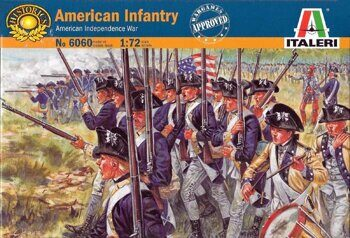 6060 American Infantry (American Independence War)