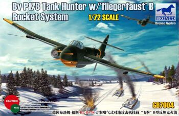 GB 7004 1/72 BV P178  Tank Hunter w/ 'Fliegerfaust' B Rocket System.