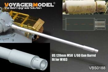 VBS0188 US 120mm M58 L/60 Gun Barrel(M103 used) (GP)