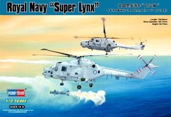 87238 Вертолет:Royal Navy Super Lynx (Hobby Boss) 1/72