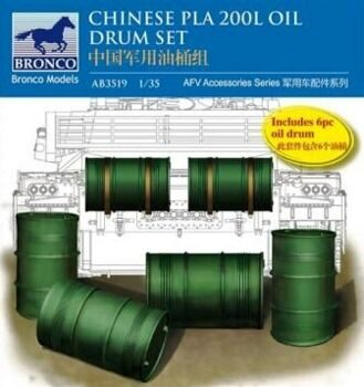 AB3519 Chinese pla 200L oil drum set
