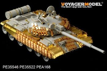 PE35546 Modern Russian T-62 ERA Medium Tank Mod.1972  Basic(For TRUMPETER 01556)