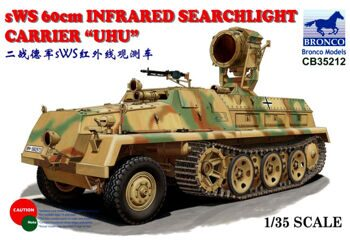 CB35212 1/35 sWS 60cm Infrared Searchlight Carrier 'UHU'