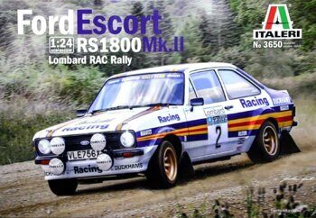 3650 FORD ESCORT RS1800 Mk.II Lombard RAC Rally