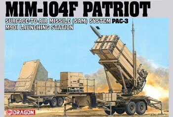 3563 MIM-104F PATRIOT SURFACE-TO-AIR MISSILE (SAM) SYSTEM PAC-3 M901 LAUNCHING STATION
