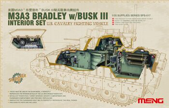 SPS-017 U.S. CAVALRY FIGHTING VEHICLE M3A3 BRADLEY w/BUSK III INTERIOR SET