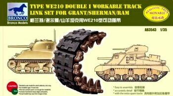 AB3543 Sherman Double I Workable Track Link Set