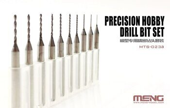 MTS-023a Precision Hobby Drill Bit Set