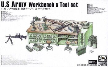 AF35302 U.S. Army Workbench & Tool set