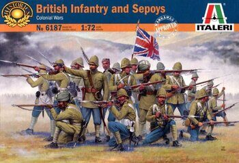 6187 BRITISH INFANTRY and SEPOYS (Colonial Wars)