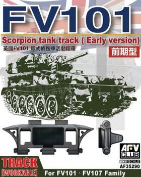 AF35290 1/35 Scorpion Track Early Version