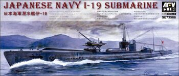 SE73506 1/350 Japanese Navy I-19 Submarine