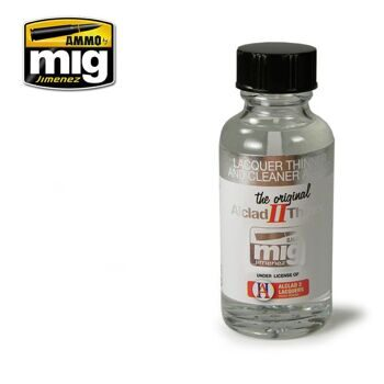 AMIG8200 LACQUER THINNER AND CLEANER - Alclad II 307 (30 ml)