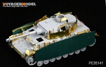 PE35141 1/35 Pz.kPfw. IV Ausf F2/G (For DRAGON6360)