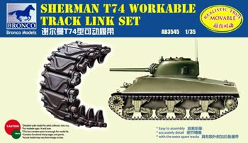 AB3545 Sherman T74 Workable Track Link Set  Available