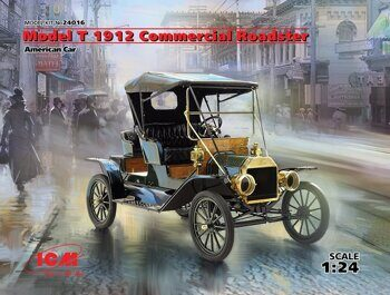 24016 Model T 1912 Commercial Roadster