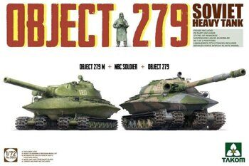 5005 1/72 Object 279+Object 279M+NBC Soldier