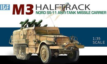 3579 IDF M3 Halftrack Nord SS-11 Anti-Tank Missile Carrier