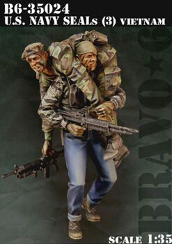 35024 1/35 US NAVY SEALS VIETNAM